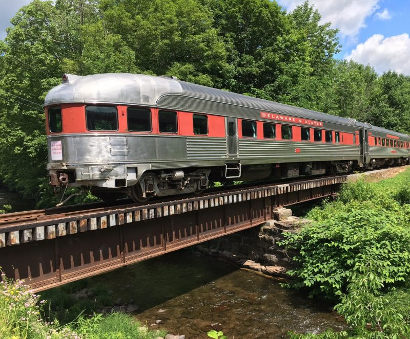 Historic Railroad in the Great Western Catskills