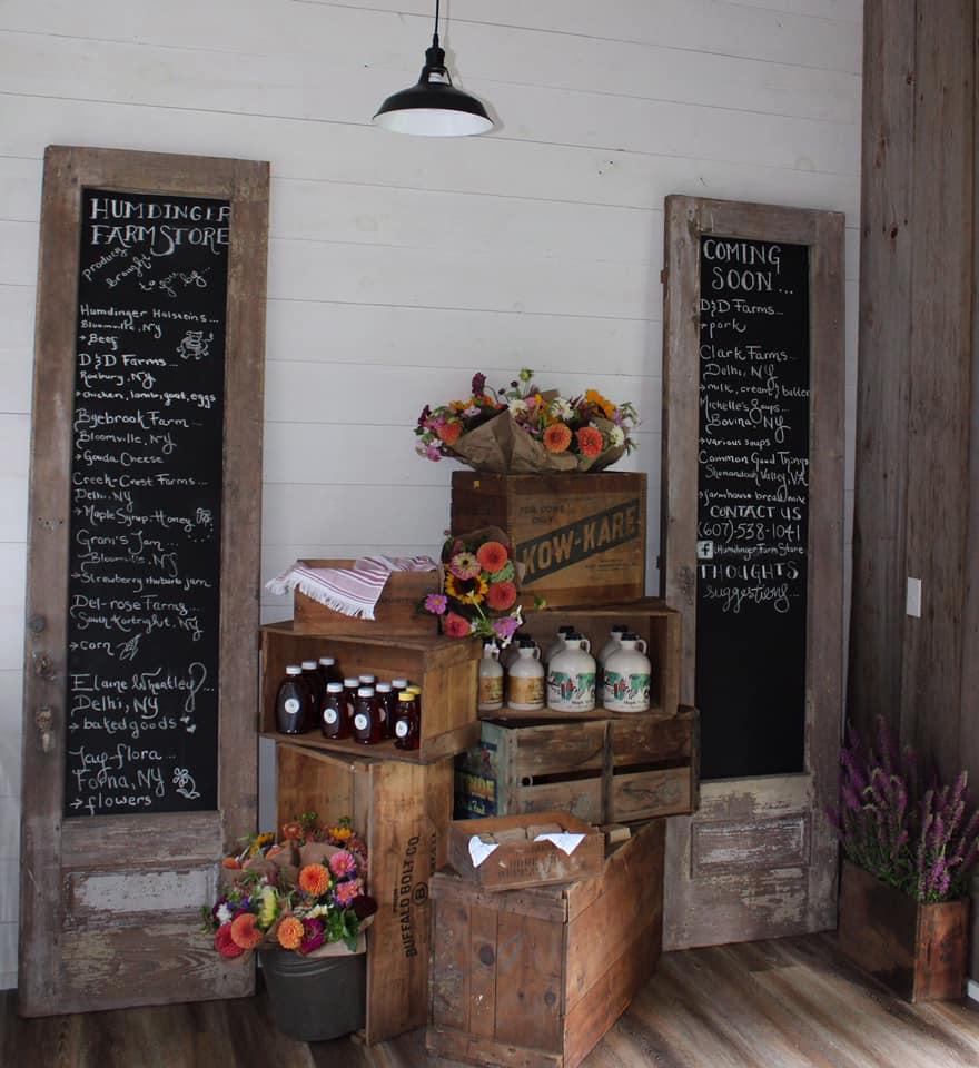 Farm Store in Delaware County, New York Catskills