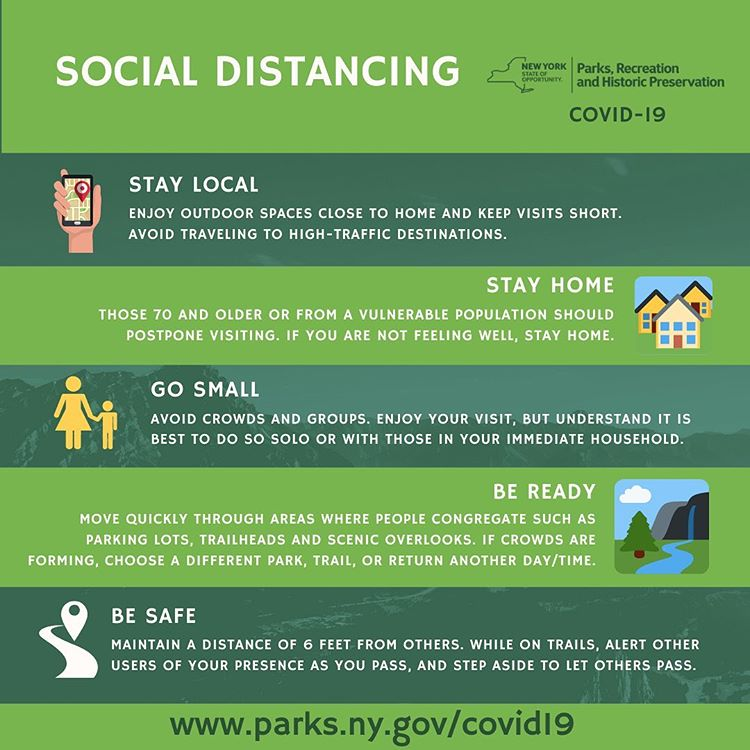 social distancing in the catskills