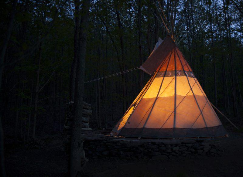Glamping Tipi Camping Catskills